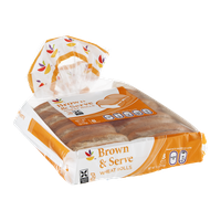 Ahold Brown & Serve Wheat Rolls - 8 CT