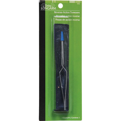 Dritz Corporation Dritz Longarm Reverse Action Tweezer