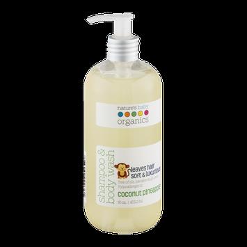 Nature's Baby Organics Shampoo & Body Wash Coconut Pineapple