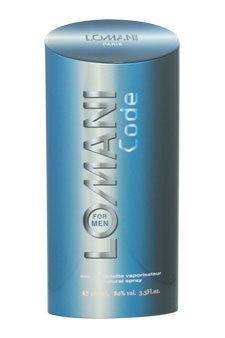 Lomani Code by Lomani for Men - 3.3 oz EDT Spray