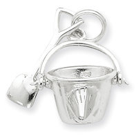 Cellini, Inc goldia Sterling Silver Shovel and Pail Charm