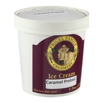 Prigel Family Creamery Ice Cream Caramel Pretzel