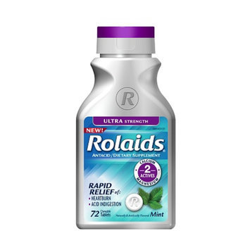 Rolaids Ultra Strength Chewable Tablets Mint