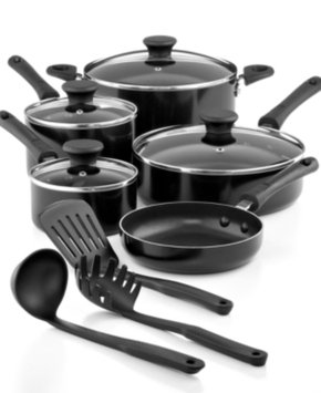 Tools Of The Trade Tools of the Trade Everyday Nonstick Cookware, 12 Piece Set