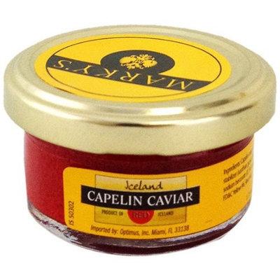 Marky's Red Capelin Caviar Malossol Jar, 1.75-Ounce (Pack of 6)