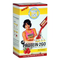 2Go Biggest Loser Protein - Red Raspberry