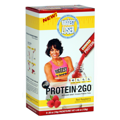 2Go Biggest Loser Protein - Red Raspberry