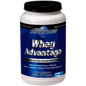 Pure Advantage Whey Protein Vanilla -- 2.2 lbs