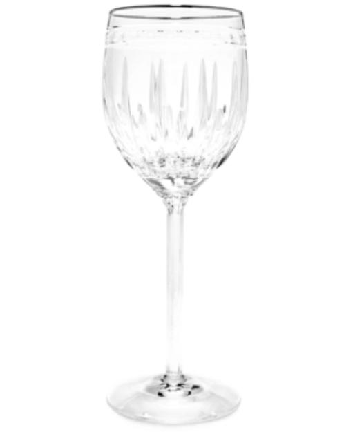 Lenox Stemware, Vintage Jewel Platinum Goblet