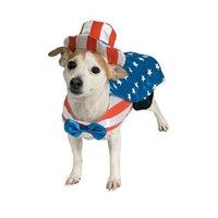 Rubies Costumes Uncle Sam Dog Costume, Large, 1 ea