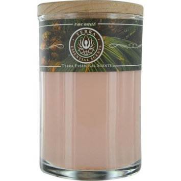 Coconut Soy Candle 12 Oz Tumbler. a Warm & Welcoming Blend with Tiger
