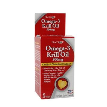 Natrol Omega-3 Krill Oil 500mg, Softgels