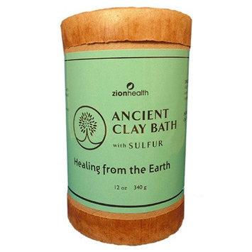 Clay Bath Sulfur Zion Health 12 oz Powder