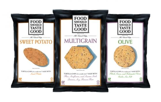 Food Should Taste Good Sweet Potato/ Multigrain/ olive Chips variety pack