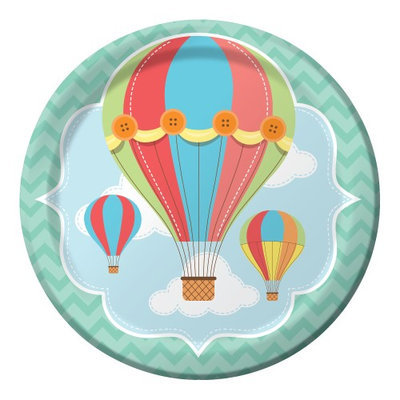 Up Up And Away Dinner Plate Pkg/8