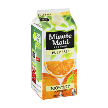 Minute Maid Premium 100% Orange Juice Pulp Free