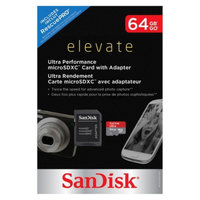 Sandisk SanDisk Ultra High Speed 64GB microSD Memory Card with Adapter