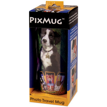 Cottage Mills PP650 14 Ounce Personalized Travel Photo Mug