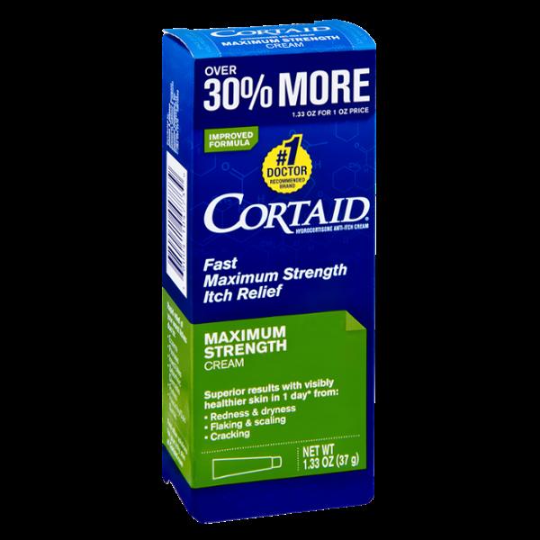 Cortaid Maximum Strength Itch Relief Cream