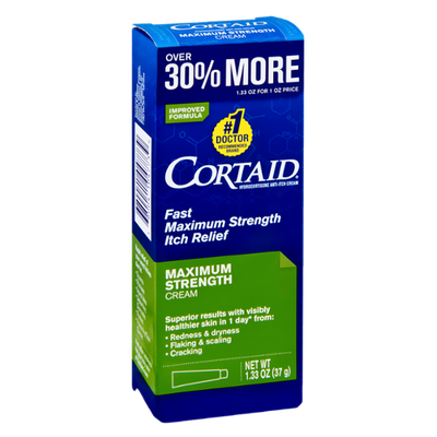 Cortaid Maximum Strength Itch Relief Cream