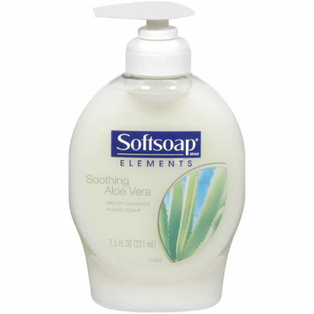 Colgate Palmolive 26012CT Moisturizing Hand Soap with Aloe  Unscented Liquid  7. 5oz Pump  12/carton