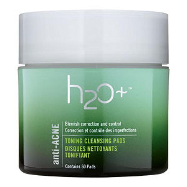 H2O Plus Anti-Acne Toning Cleansing Pads