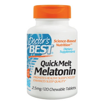 Doctor's Best QuickMelt Melatonin
