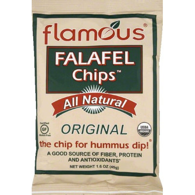 Flamous Brands Falafel chip 95% Organic Original 1.6 Oz -Pack of 24