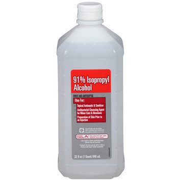 Walmart Vi-Jon 91% Isopropyl Alcohol First Aid Antiseptic, 32 fl oz