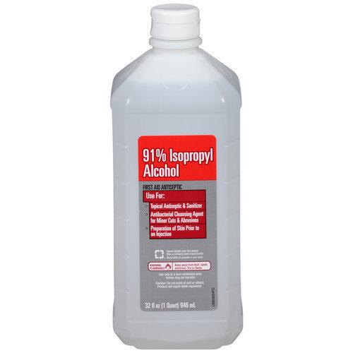 Walmart Vi Jon 91 Isopropyl Alcohol First Aid Antiseptic 32 Fl Oz