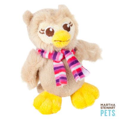 Martha Stewart PetsA Plush Owl Dog Toy