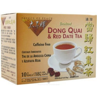 Prince of Peace Instant Dong Quai & Red Date Tea with 10 Bags