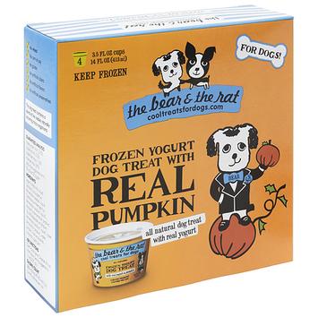 The Bear & The Rat Cool Treats For Dogs Pumpkin Frozen Yogurt