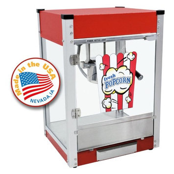 Paragon Cineplex Popcorn Machine - Red, 4 Oz 1104800