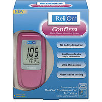 ReliOn Confirm Blood Glucose Meter