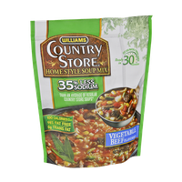 Williams Country Store Vegetable Beef Flavored 35% Less Sodium Home Style Soup Mix