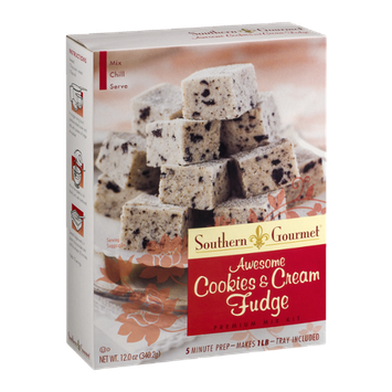 Southern Gourmet Premium Mix Kit Awesome Cookies & Cream Fudge