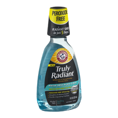 ARM & HAMMER™ Truly Radiant Fluoride Rinse Sparkling Mint