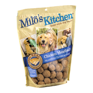 Milo's Kitchen Home-Style Dog Treats Chicken Meatballs