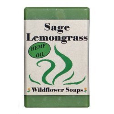 Wildflower Soaps Sage Lemongrass 4 oz. Soap Bar (3 Pack)