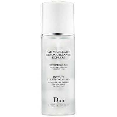 Dior Instant Cleansing Water with Pure Lily Extract 6.7 oz