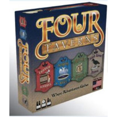 Rather Dashing Games Four Taverns Board Game
