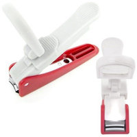 Trademark Global LED Lighted Nail Clipper with Magnifier (Set of 3)