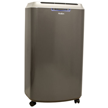 Cam Consumer Products, Inc. 14,000 BTU Dual Hose Portable Air Conditioner and Heater with Exclusive InvisiMist Technology