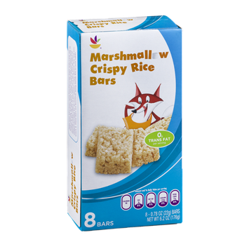 Ahold Marshmallow Crispy Rice Bars - 8 CT