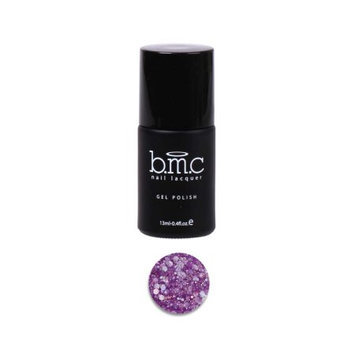 Bundle Monster BMC Mix Hexagon Shaped Glitter Purple Nail Lacquer Gel Polish - Woodland Fantasy