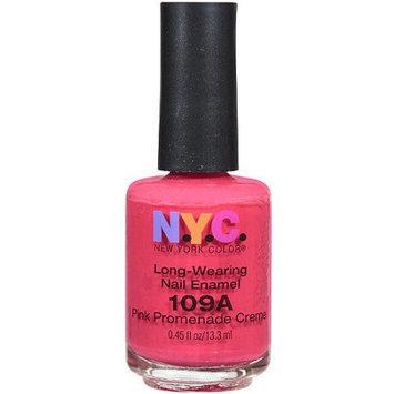 NYC Long Wearing Nail Enamel - Pink Promenade Creme