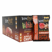 Bare Fruit 100% Natural Crunchy Apple Chips, Cinnamon, 16.9 oz