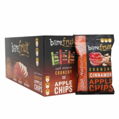 Bare Fruit 100% Natural Crunchy Apple Chips, Cinnamon, 16.9 oz