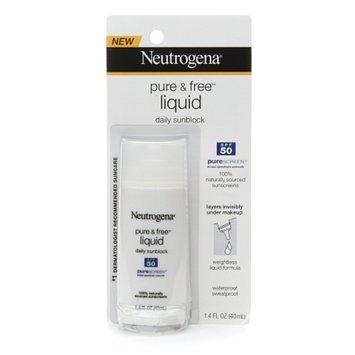 Neutrogena Pure & Free Liquid Daily Sunscreen